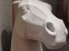 Horse Head Sculpture, front view
