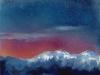 Winter Mountain Twilight
