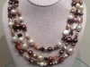 Wrap Chocolate Pearl Necklace 60