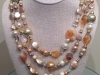 Wrap Cafe au Lait Pearl Necklace 60