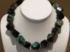 Emerald Banded Agate Necklace 16