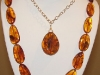 Gem grade amber necklace 27