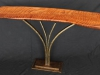Flamed Redwood Root Console