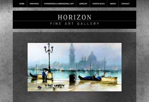 Horizon Fine Art Gallery New Web Site!