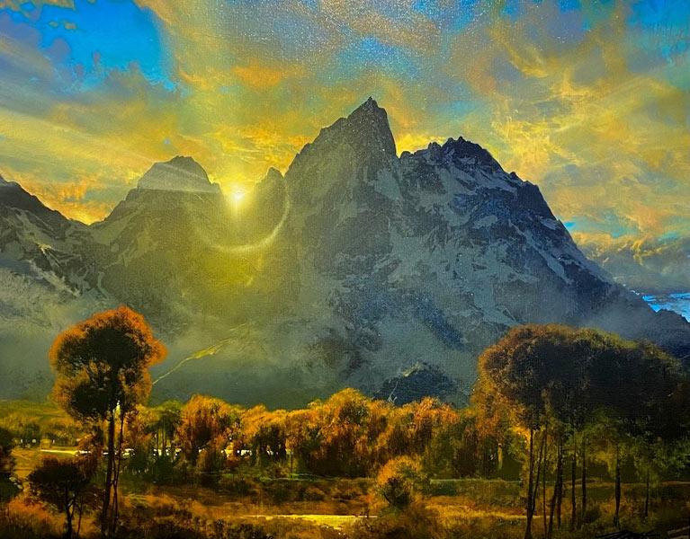 Dale Terbush painting: Where I Lost My Heart Acrylic 24x30