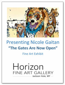 Nicole Gaitan, Artist at Horizon Fine Art Gallery
